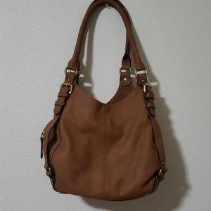 NWOT Brown merona purse
